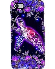Turtles flower phone case Phone Case i-phone-8-case