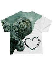 Heart Lion 4 All-over T-Shirt back