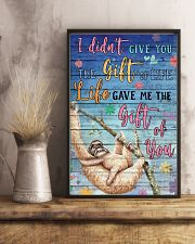 Sloth - I did not give you 16x24 Poster lifestyle-poster-3