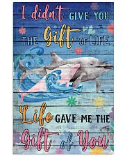 Dolphin - I did not give you 16x24 Poster front