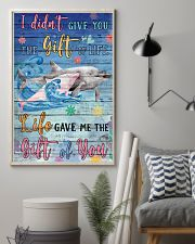 Dolphin - I did not give you 16x24 Poster lifestyle-poster-1