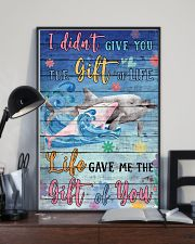 Dolphin - I did not give you 16x24 Poster lifestyle-poster-2