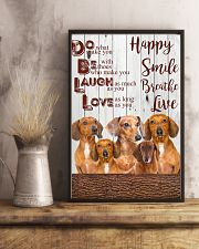 Dachshund 24x36 Poster lifestyle-poster-3