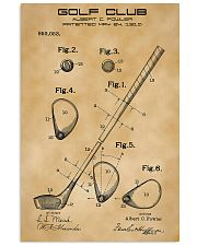 GOLF CLUB 16x24 Poster front