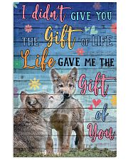 Wolves - I did not give you 16x24 Poster front
