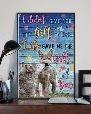 Wolves - I did not give you 16x24 Poster lifestyle-poster-2