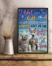 Wolves - I did not give you 16x24 Poster lifestyle-poster-3