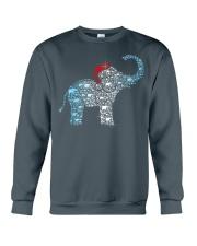 ELEPHANT CHRISTMAS Crewneck Sweatshirt thumbnail