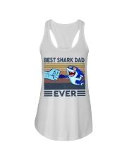 SHARK VINGATE STYLE TSHIRT Ladies Flowy Tank thumbnail
