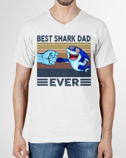 SHARK VINGATE STYLE TSHIRT V-Neck T-Shirt garment-vneck-tshirt-front-01