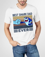 SHARK VINGATE STYLE TSHIRT V-Neck T-Shirt garment-vneck-tshirt-front-lifestyle-01