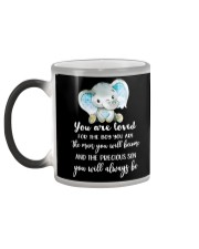YOU ARE LOVED Color Changing Mug color-changing-left