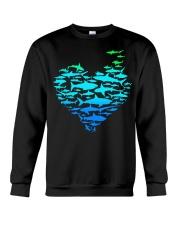 SHARK GADIENT STYLE  Crewneck Sweatshirt thumbnail