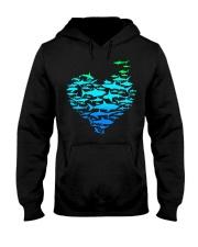 SHARK GADIENT STYLE  Hooded Sweatshirt thumbnail