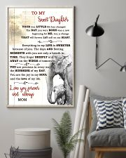 TO MY DAUGHTER  16x24 Poster lifestyle-poster-1