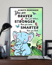 YOU ARE BRAVER 16x24 Poster lifestyle-poster-2