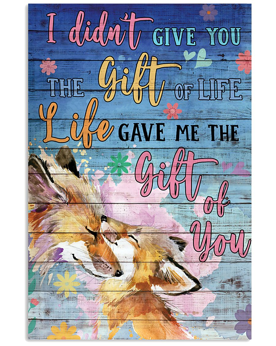 Fox - I did not give you 16x24 Poster