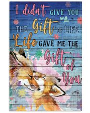 Fox - I did not give you 16x24 Poster front