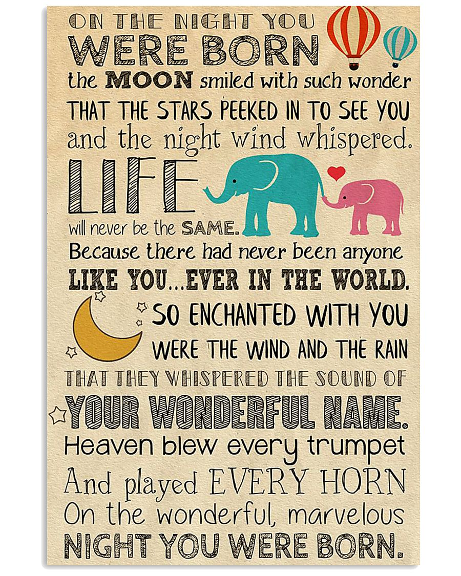 BORN THE MOON 24x36 Poster