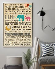 BORN THE MOON 24x36 Poster lifestyle-poster-1
