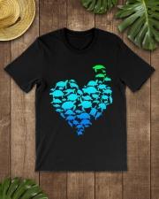 TURTLE GADIENT STYLE TSHIRT Classic T-Shirt lifestyle-mens-crewneck-front-18