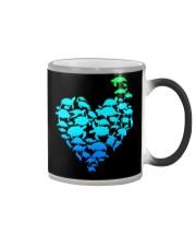 TURTLE GADIENT STYLE TSHIRT Color Changing Mug thumbnail