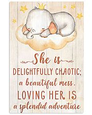 SHE IS DELIGHTFULLY CHAOTIC 16x24 Poster front