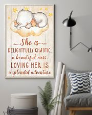 SHE IS DELIGHTFULLY CHAOTIC 16x24 Poster lifestyle-poster-1