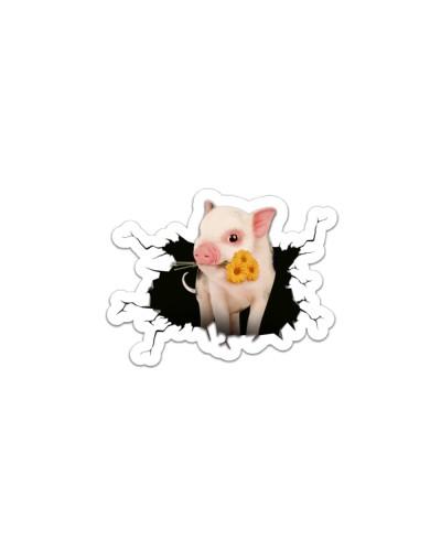 20200805 PIG BREAK STYLE STICKER