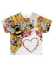 Heart bees All-over T-Shirt front