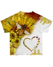 Heart bees All-over T-Shirt back