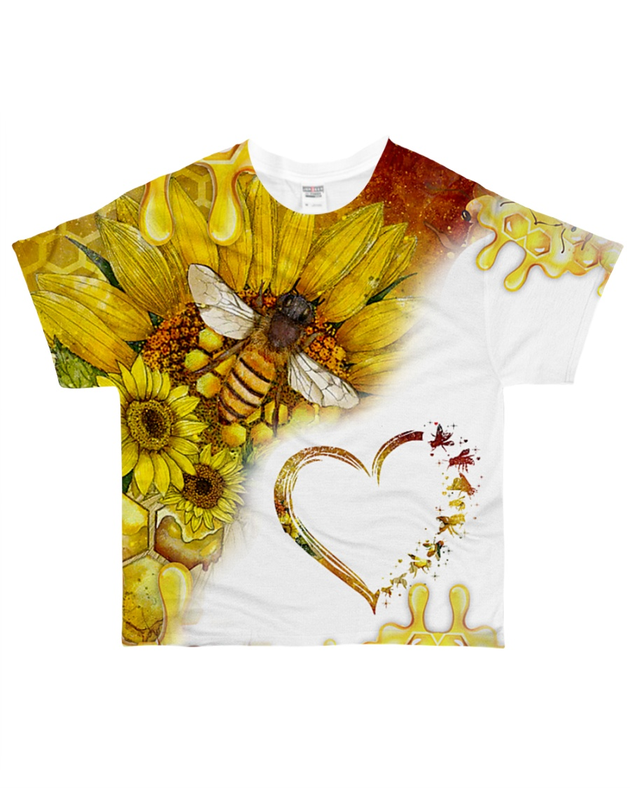 Heart bees All-over T-Shirt
