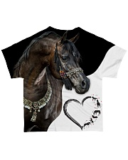 Heart Horse  All-over T-Shirt back