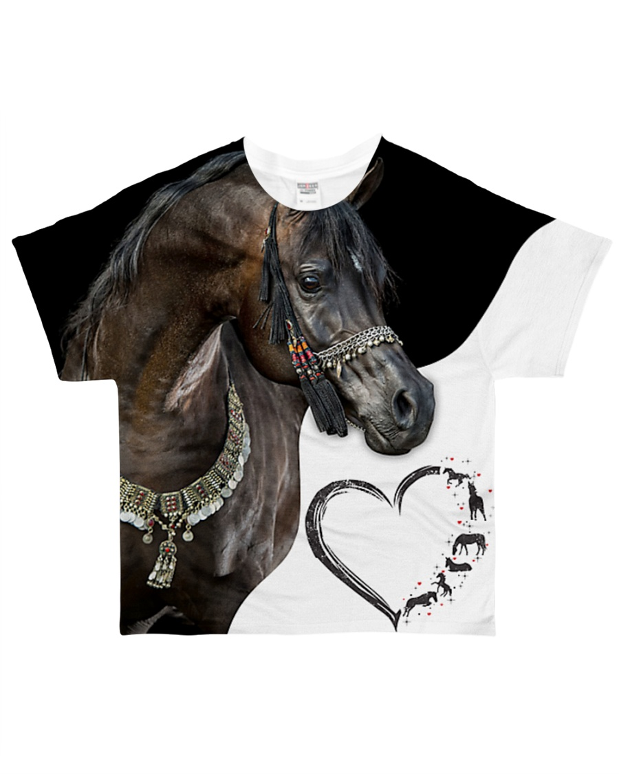Heart Horse  All-over T-Shirt