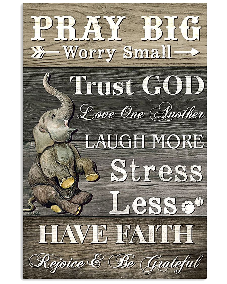 PRAY BIG 16x24 Poster
