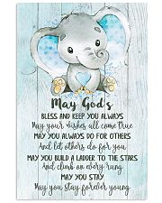 BLESS AND KEEP YOU ALWAYS 16x24 Poster front