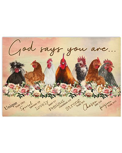 God says you are Chicken