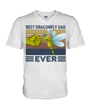DRAGONFLY VINGATE STYLE TSHIRT V-Neck T-Shirt front