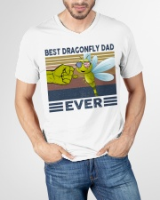 DRAGONFLY VINGATE STYLE TSHIRT V-Neck T-Shirt garment-vneck-tshirt-front-lifestyle-01