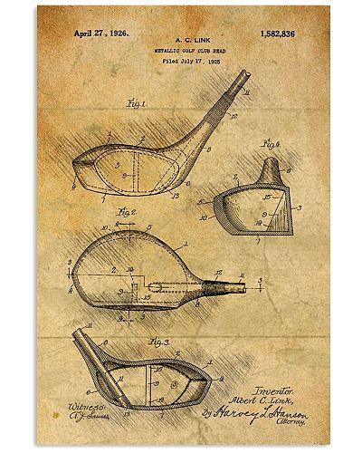 Golf Club Patent Drawing