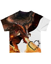 DRAGON FIRE All-over T-Shirt back