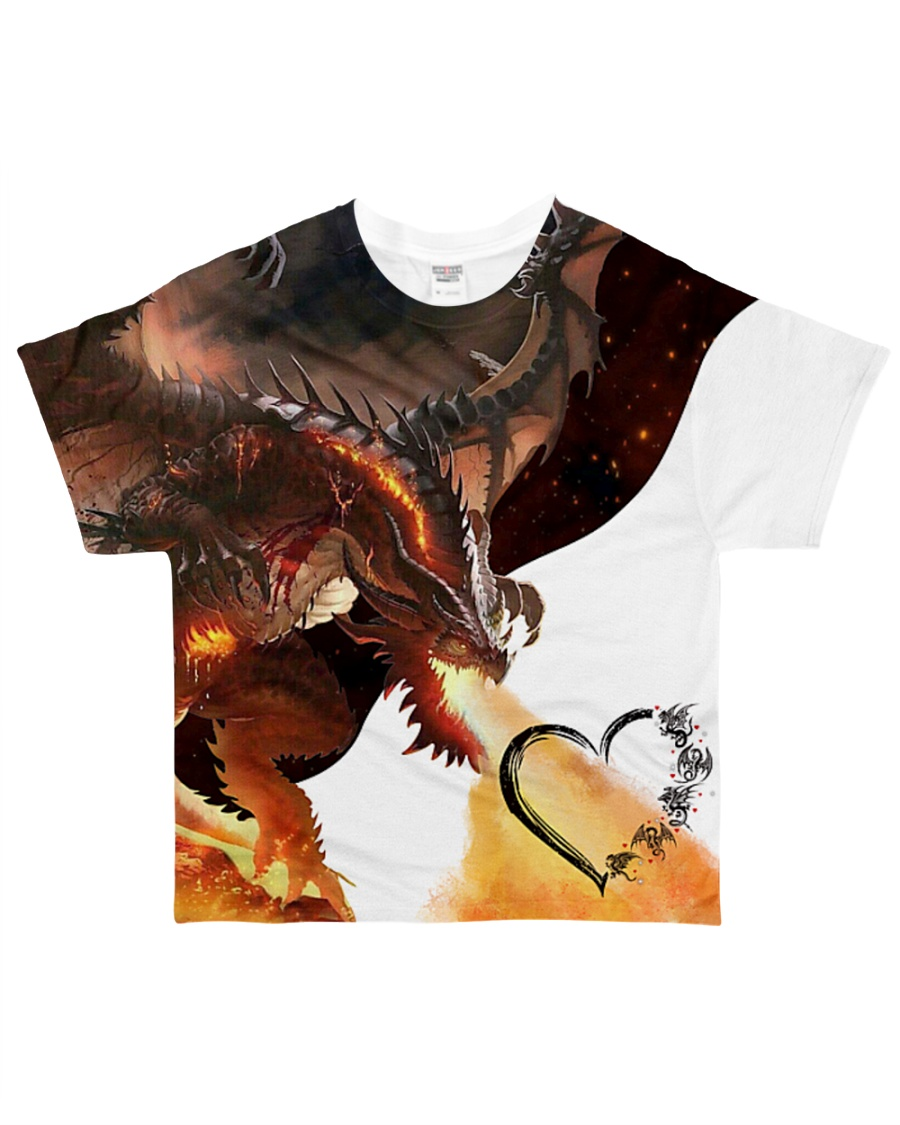 DRAGON FIRE All-over T-Shirt