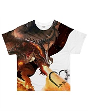 DRAGON FIRE All-over T-Shirt front