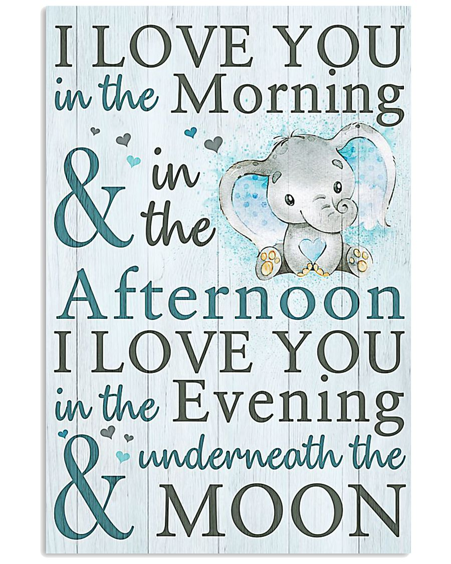 MOON I LOVE YOU 16x24 Poster
