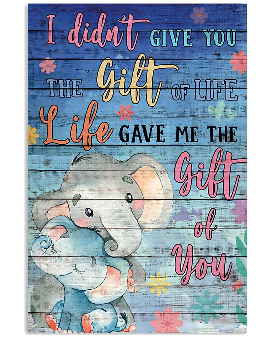 Elephant - I did not give you 16x24 Poster