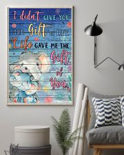 Elephant - I did not give you 16x24 Poster lifestyle-poster-1