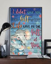 Elephant - I did not give you 16x24 Poster lifestyle-poster-2