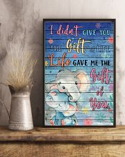 Elephant - I did not give you 16x24 Poster lifestyle-poster-3