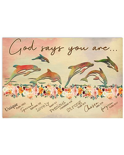 God says you are Dolphin