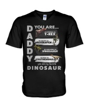 DADDY FATHER DAY V-Neck T-Shirt thumbnail